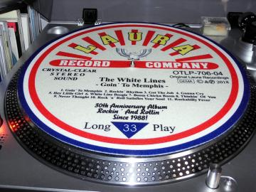 The White Lines - Slipmat 30th Anniversary Goin´ To Memphis