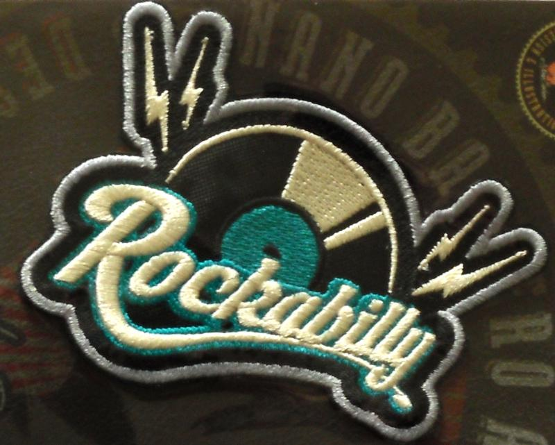 Rockabilly Record Patch