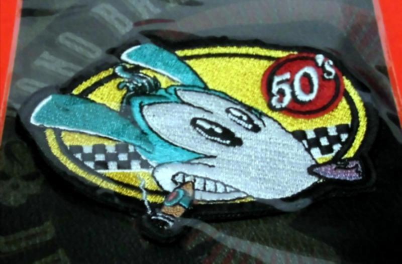 Racing Rat Patch
