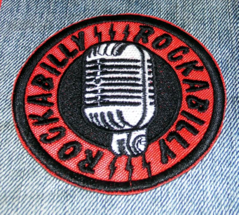 Rockabilly Mic Patch