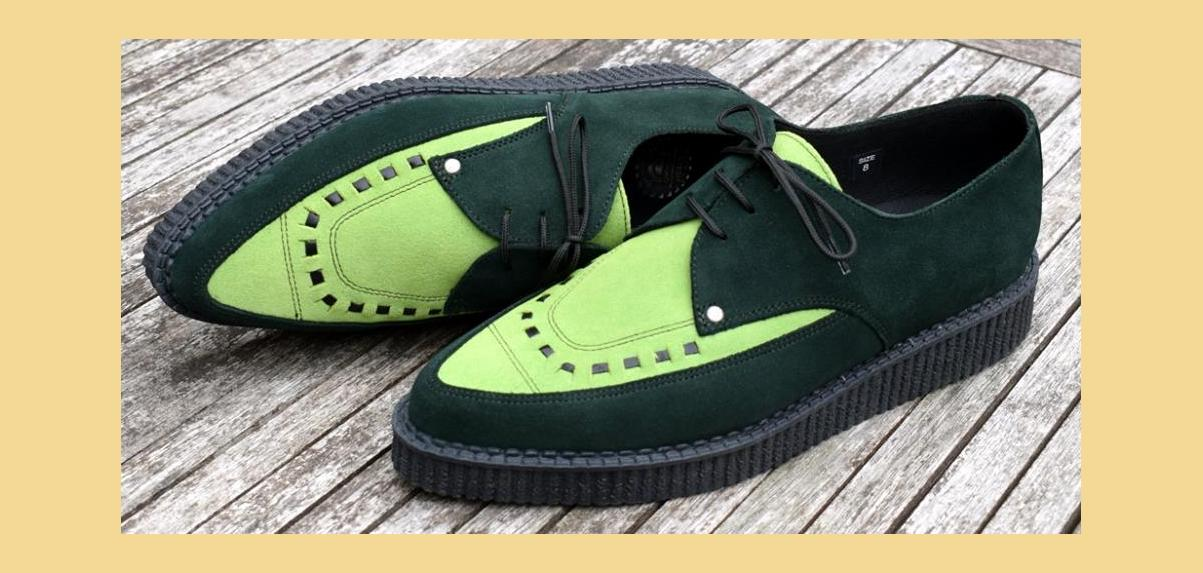 Pointed Creepers, Jam Shoes, Rockabilly