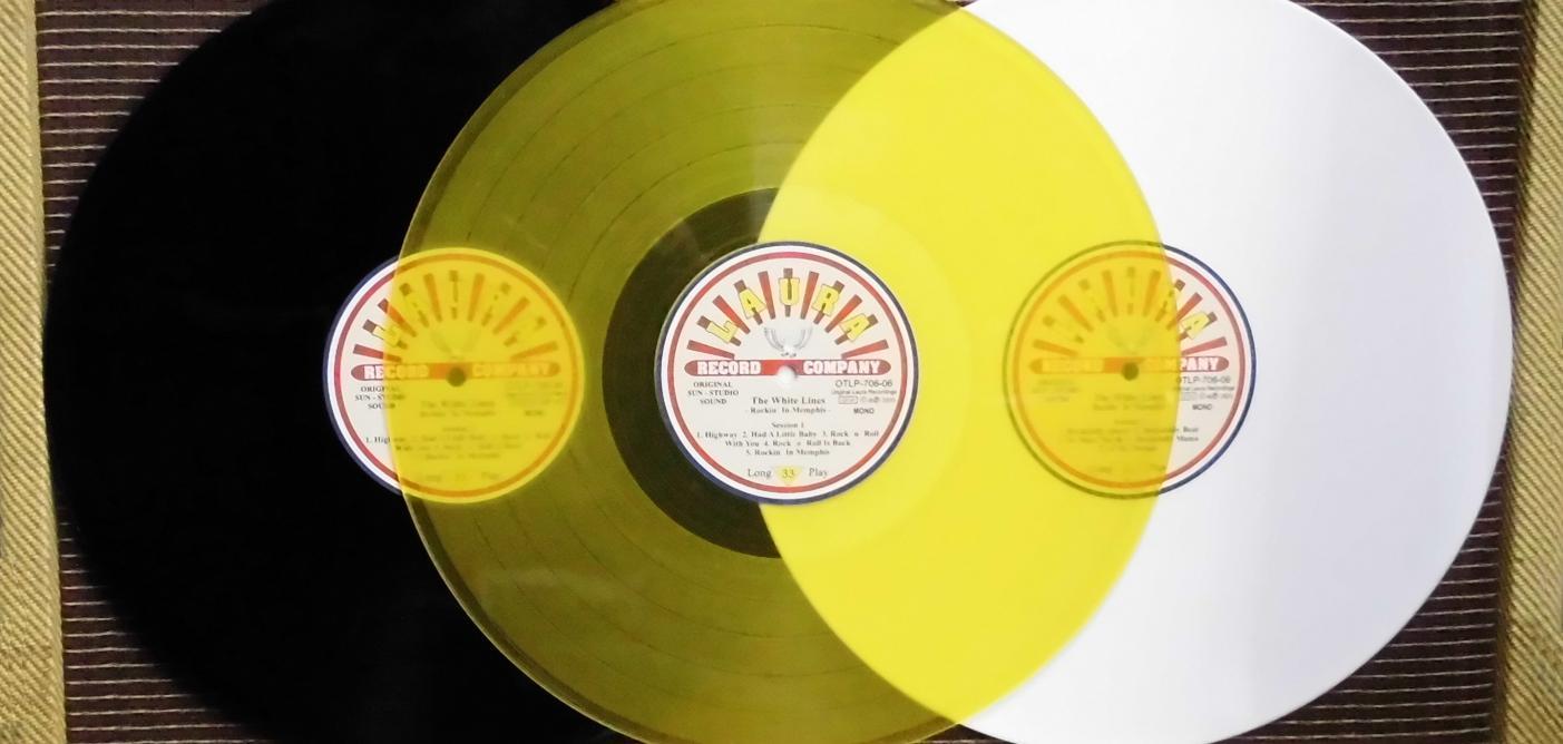 The White Lines Rockin´ In Memphis - SUN Studio Recordings